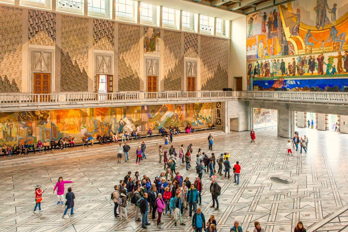 挪威奥塞罗市政厅,走进世纪建筑_图1-1