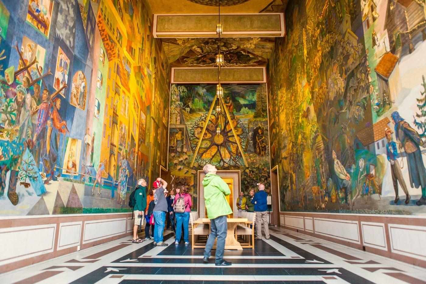 挪威奥塞罗市政厅,走进世纪建筑_图1-17