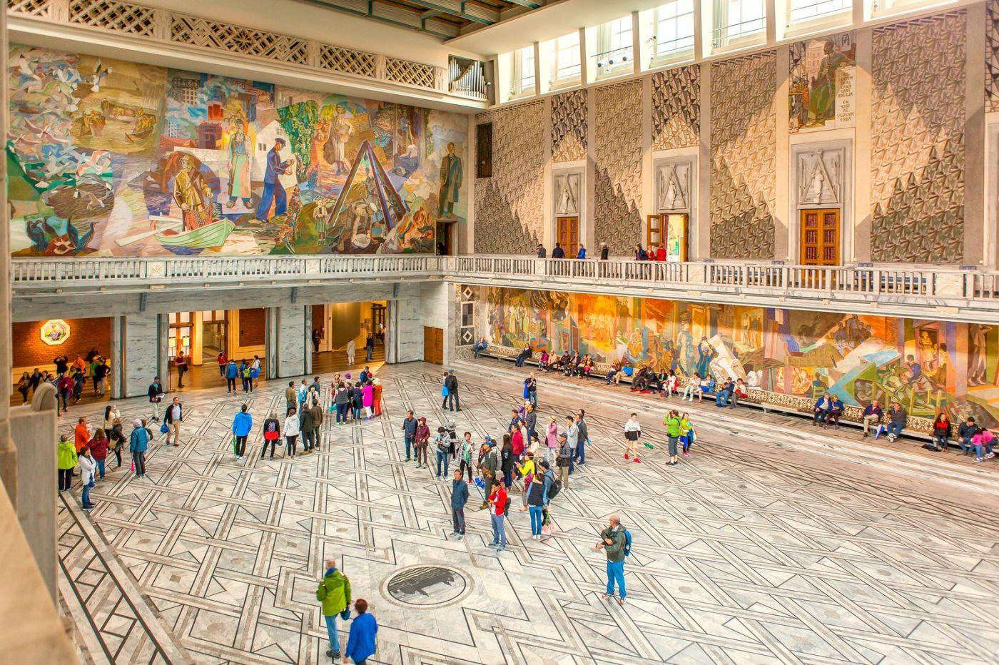 挪威奥塞罗市政厅,走进世纪建筑_图1-18
