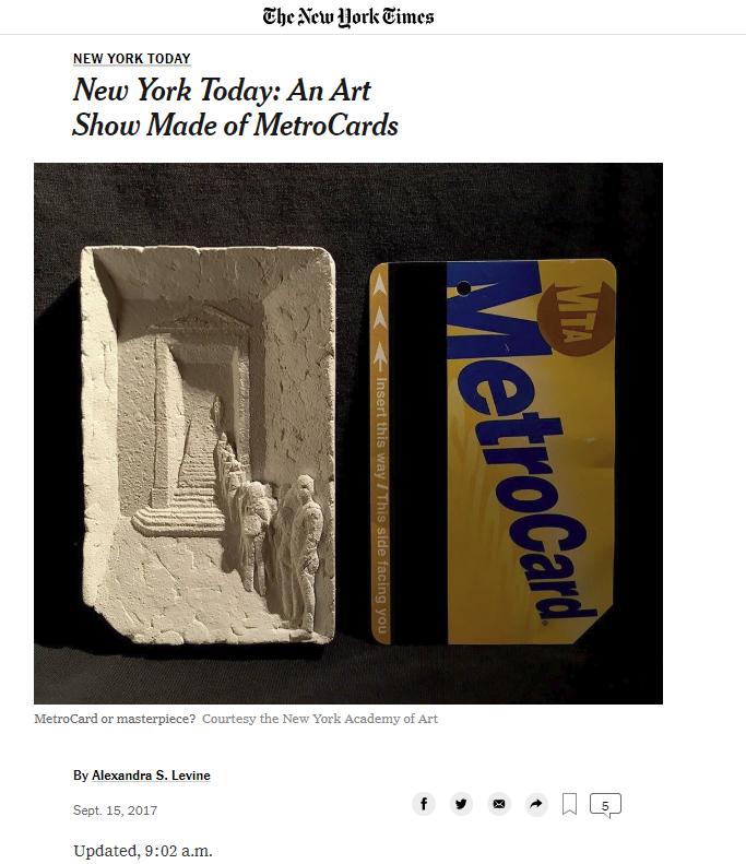 500多万纽约客每天乘坐的地铁,在艺术家眼中是咋样的?_图1-1