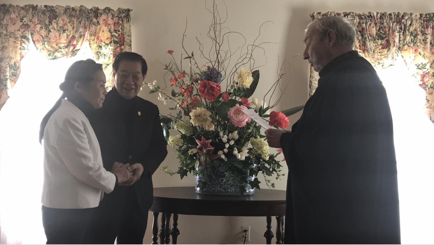 国际刑侦大师李昌钰博士终于结婚了!_图1-2