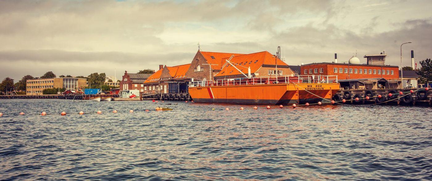 丹麦哥本哈根,坐游船看城容_图1-13