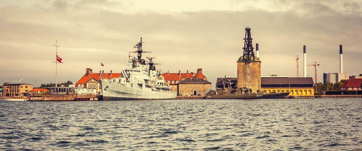 丹麦哥本哈根,坐游船看城容_图1-6