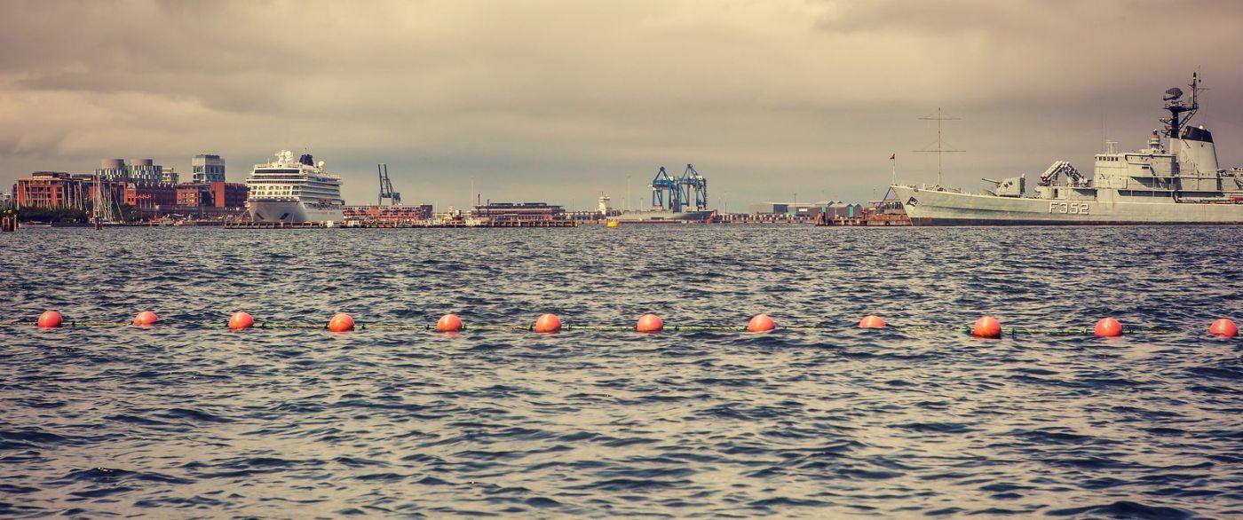 丹麦哥本哈根,坐游船看城容_图1-7