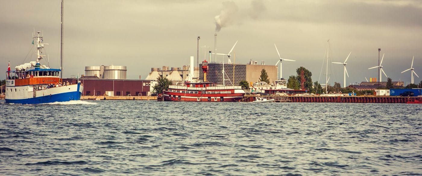 丹麦哥本哈根,坐游船看城容_图1-2