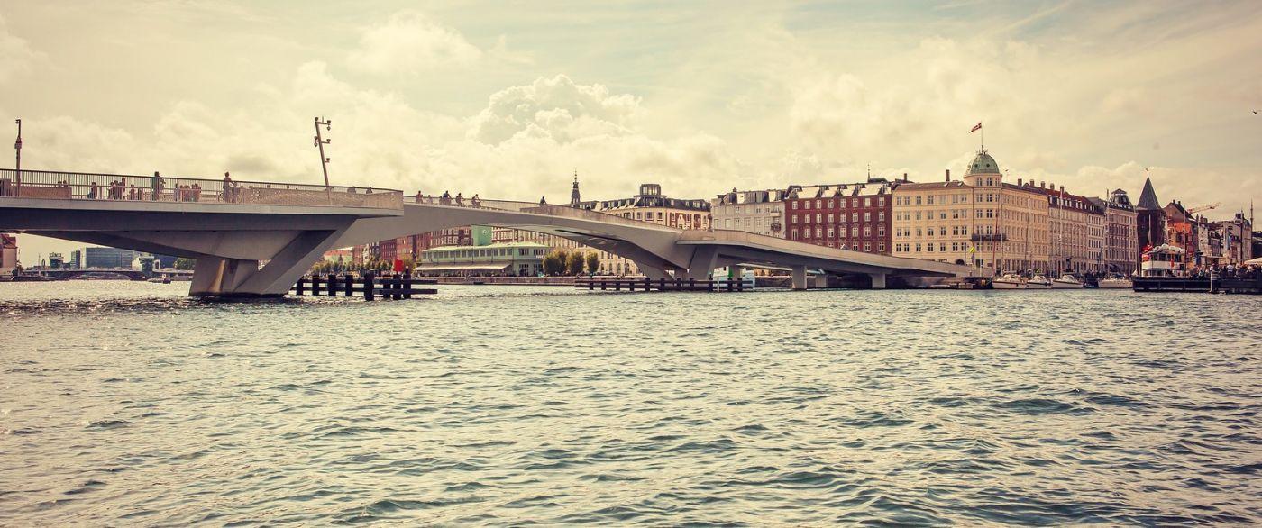 丹麦哥本哈根,坐游船看城容_图1-3