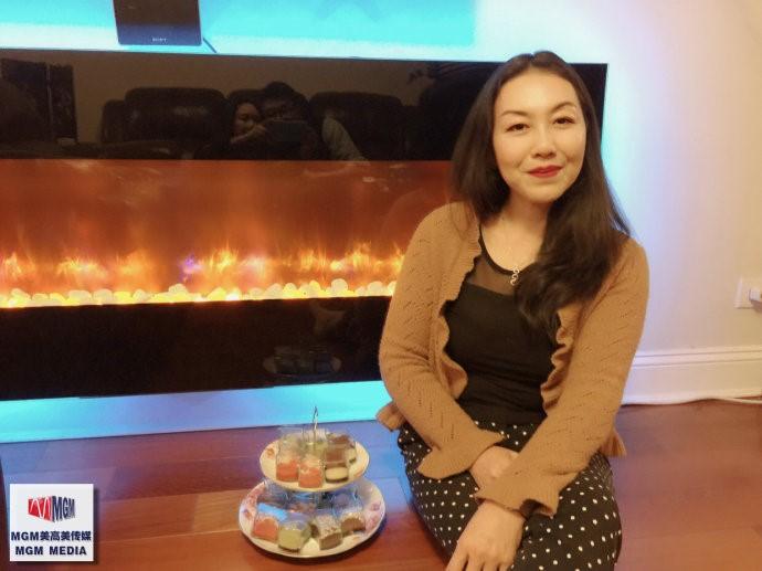 高娓娓:华人在美国中西合璧过感恩节_图1-15