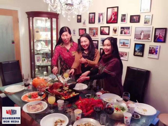 高娓娓:华人在美国中西合璧过感恩节_图1-12
