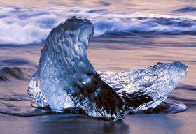 天然冰雕---加拿大的浮冰