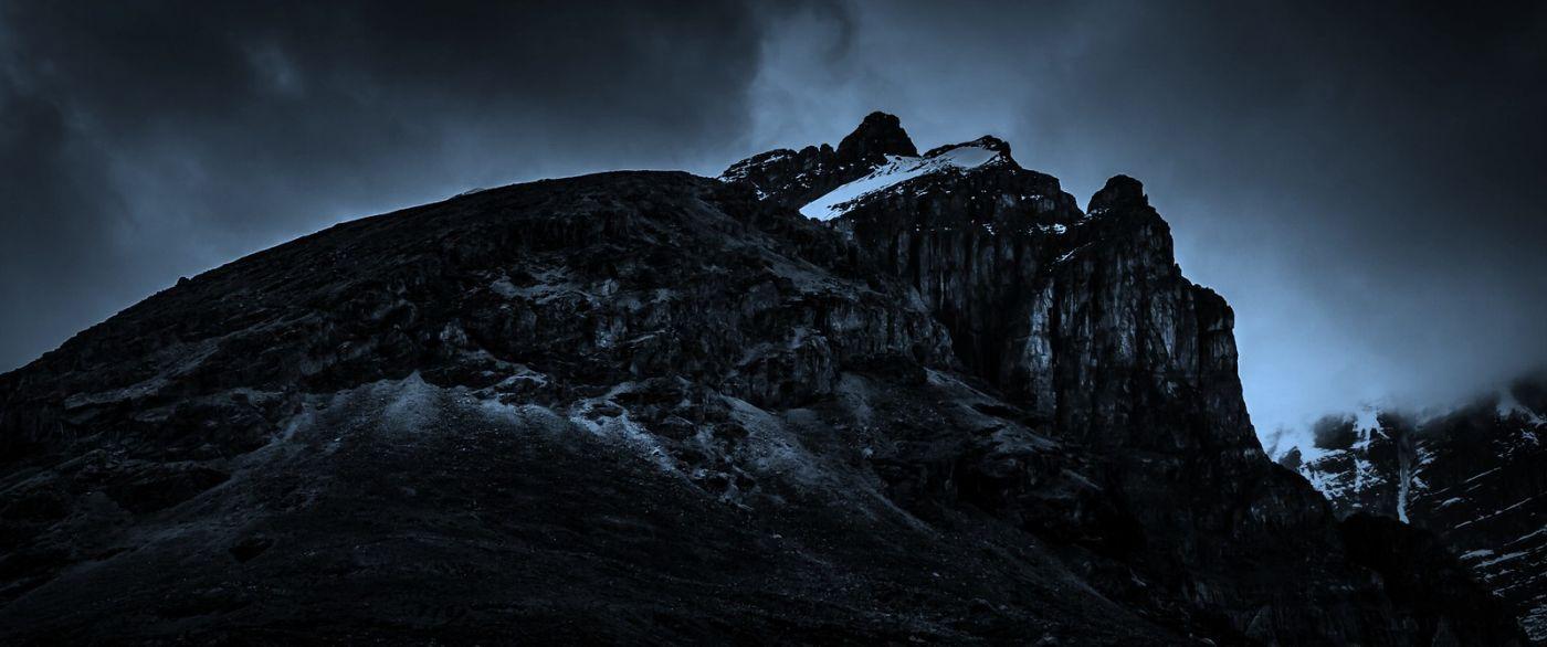 加拿大哥伦比亚冰川,大自然的威力_图1-4