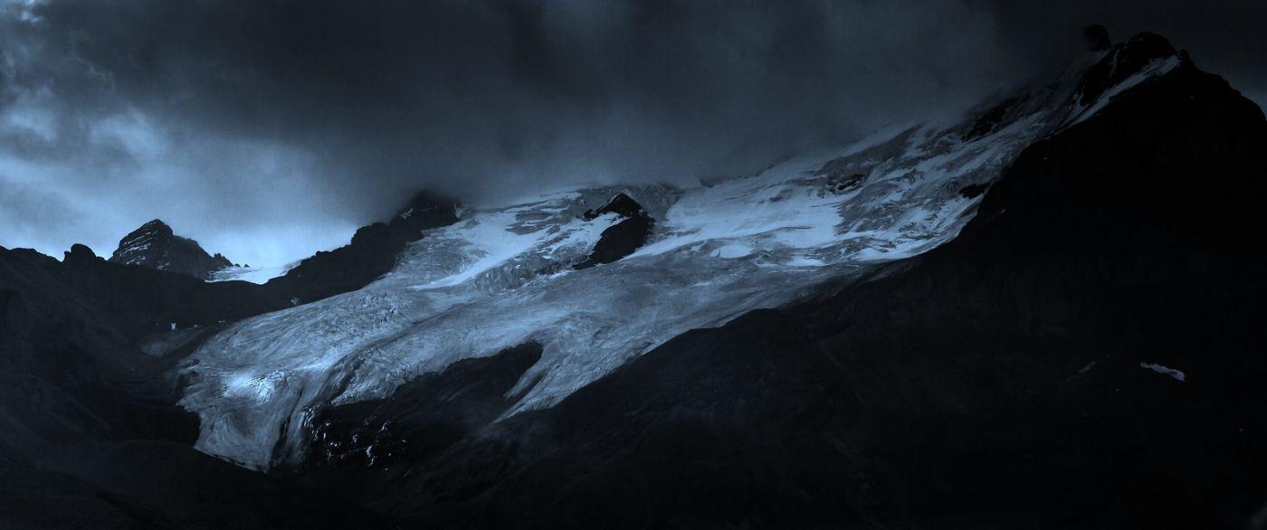 加拿大哥伦比亚冰川,大自然的威力_图1-7
