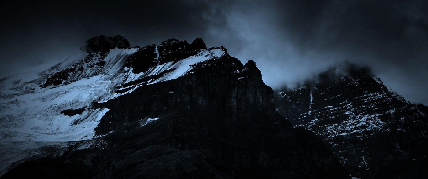 加拿大哥伦比亚冰川,大自然的威力_图1-5