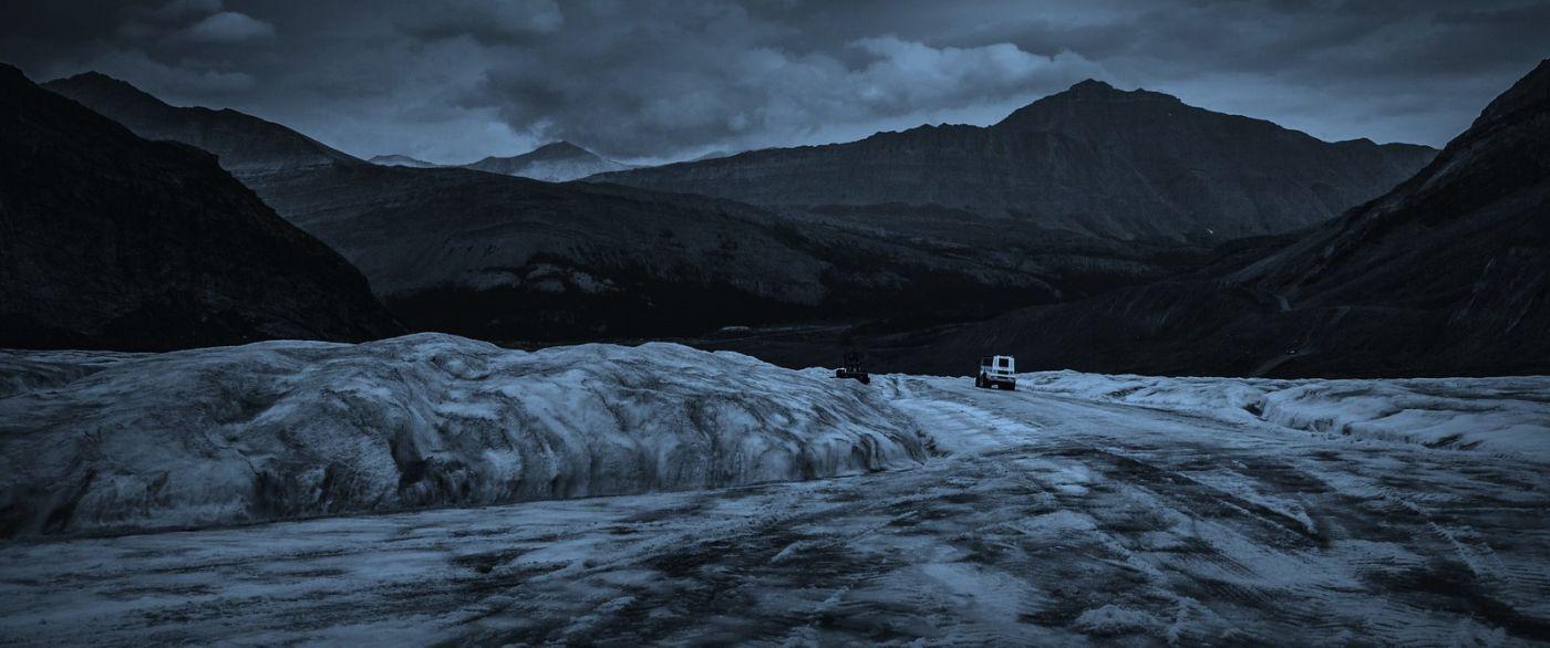 加拿大哥伦比亚冰川,大自然的威力_图1-12