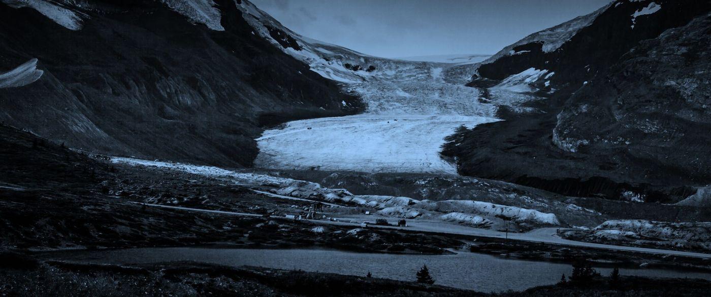 加拿大哥伦比亚冰川,大自然的威力_图1-11