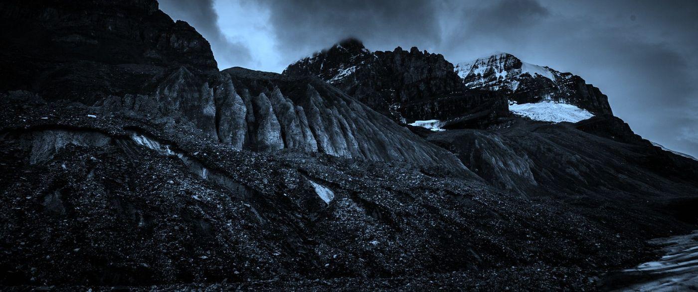 加拿大哥伦比亚冰川,大自然的威力_图1-10