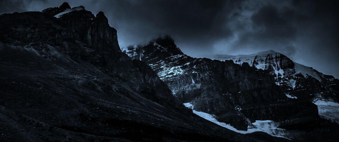 加拿大哥伦比亚冰川,大自然的威力_图1-13