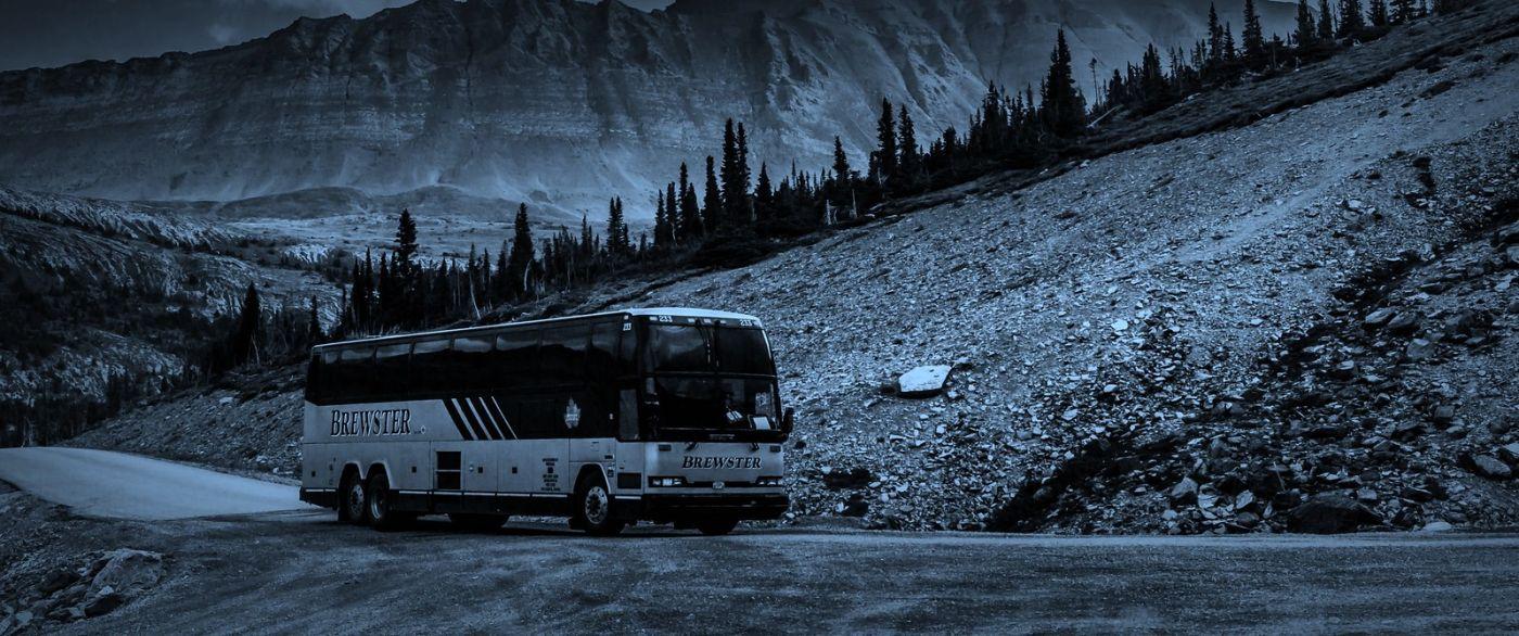加拿大哥伦比亚冰川,大自然的威力_图1-14