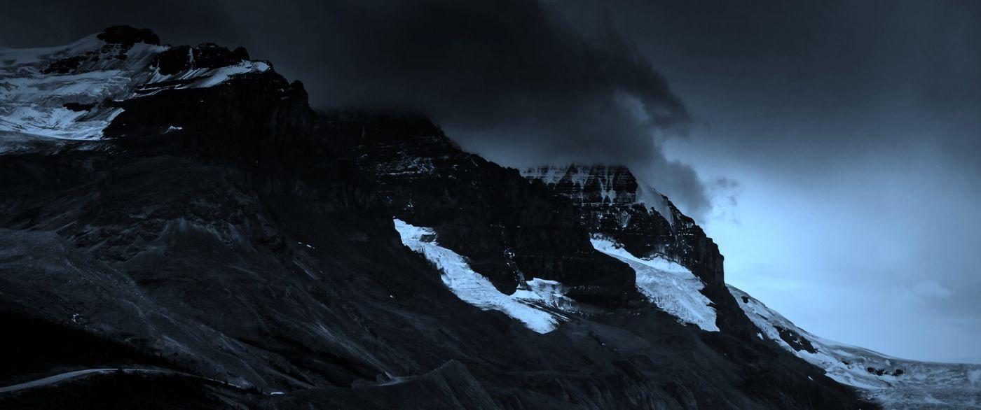 加拿大哥伦比亚冰川,大自然的威力_图1-15