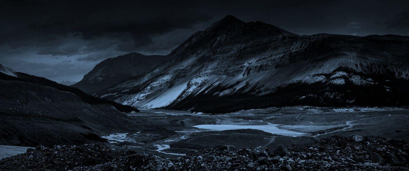 加拿大哥伦比亚冰川,大自然的威力_图1-20