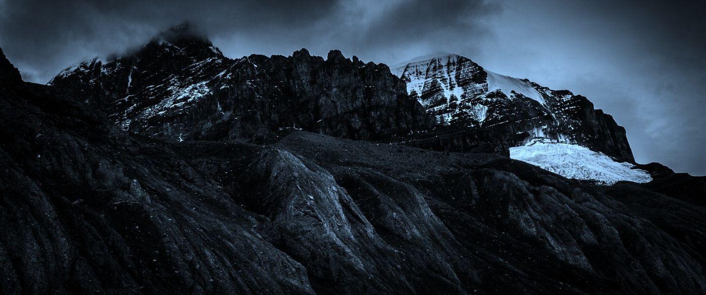 加拿大哥伦比亚冰川,大自然的威力_图1-17
