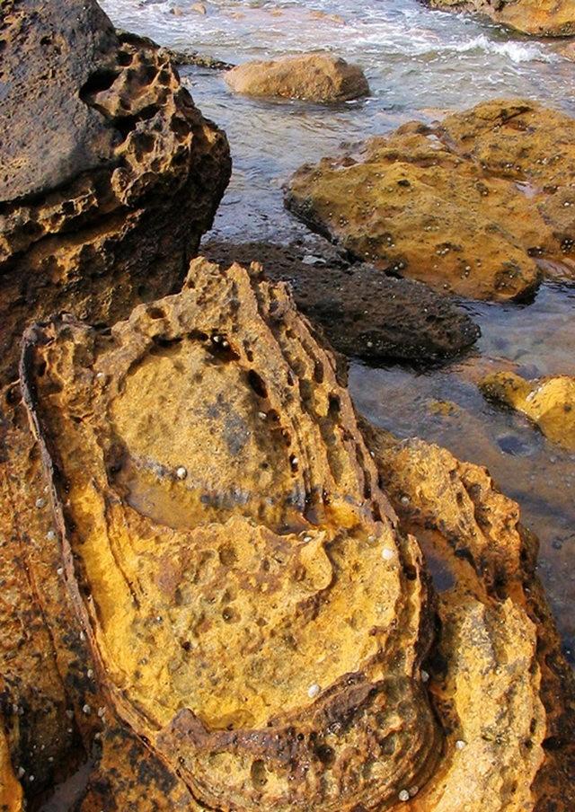 曾记忆,苏格兰的海岸岩石_图1-4