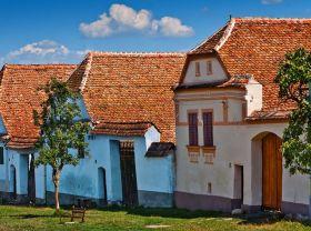 特兰西瓦尼亚的教堂村庄