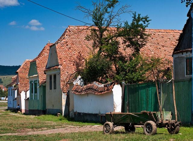 特兰西瓦尼亚的教堂村庄_图1-12