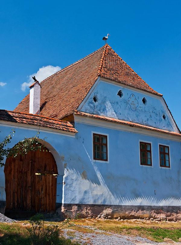 特兰西瓦尼亚的教堂村庄_图1-13