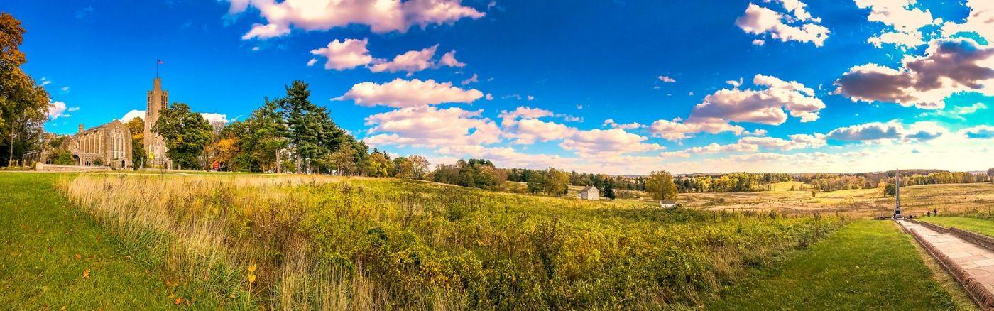 宾州的福吉谷,秋日的漫步 (手机摄影)_图1-20