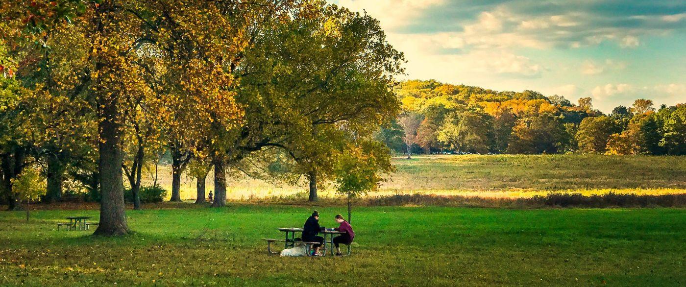 宾州的福吉谷,秋日的漫步 (手机摄影)_图1-15