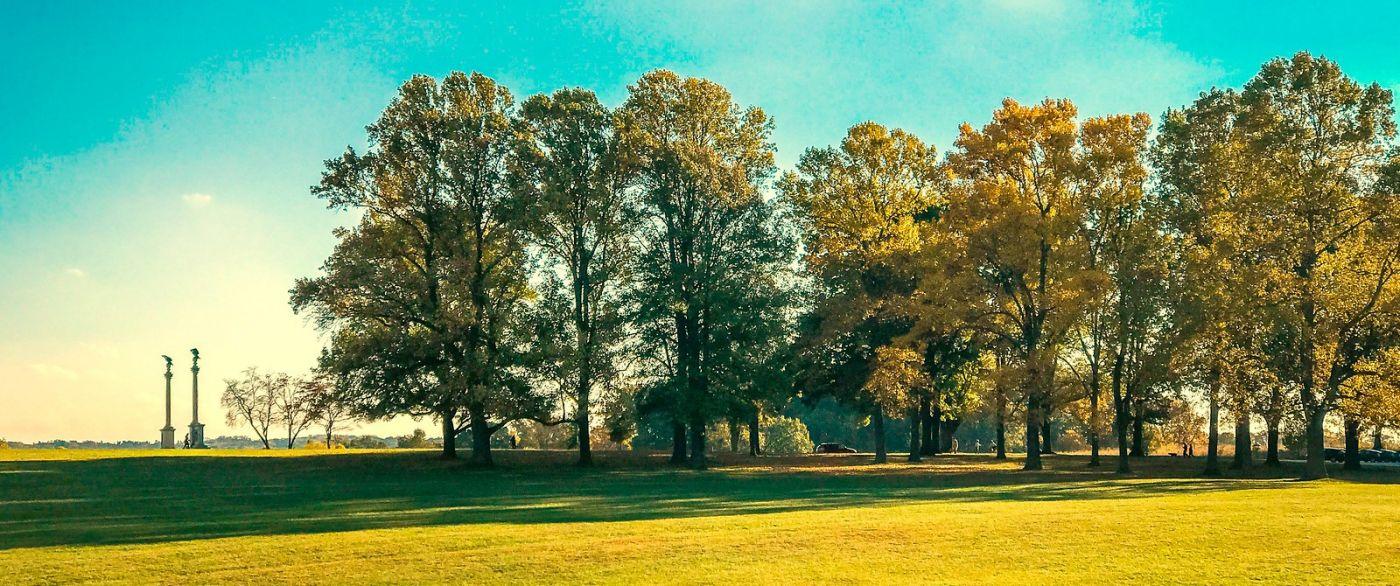 宾州的福吉谷,秋日的漫步 (手机摄影)_图1-12
