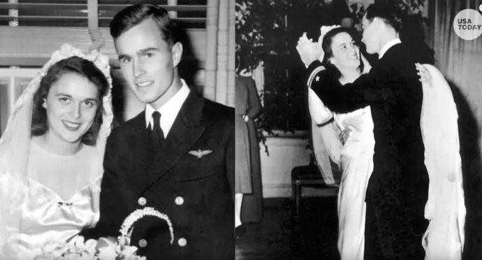 """高娓娓:最""""长情""""的美国总统,紧追老妻而逝,说说老布什70年的传奇婚史 ..._图1-4"""