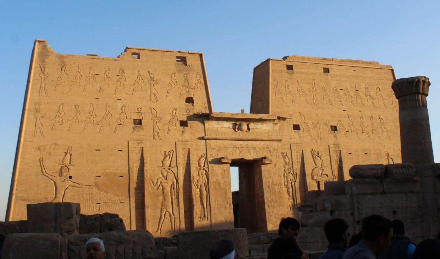 埃德富神庙和卢克索神庙_图1-1