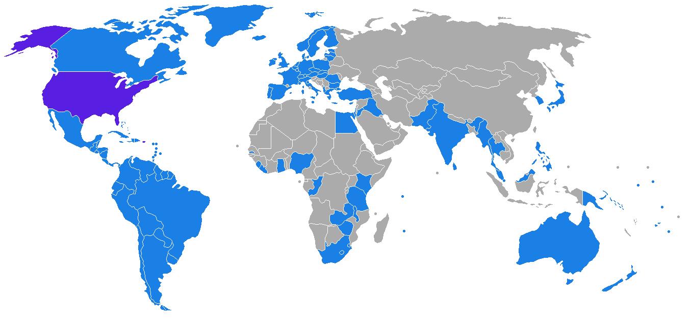 """美国和哪些国家签订了""""引渡""""条约?_图1-1"""