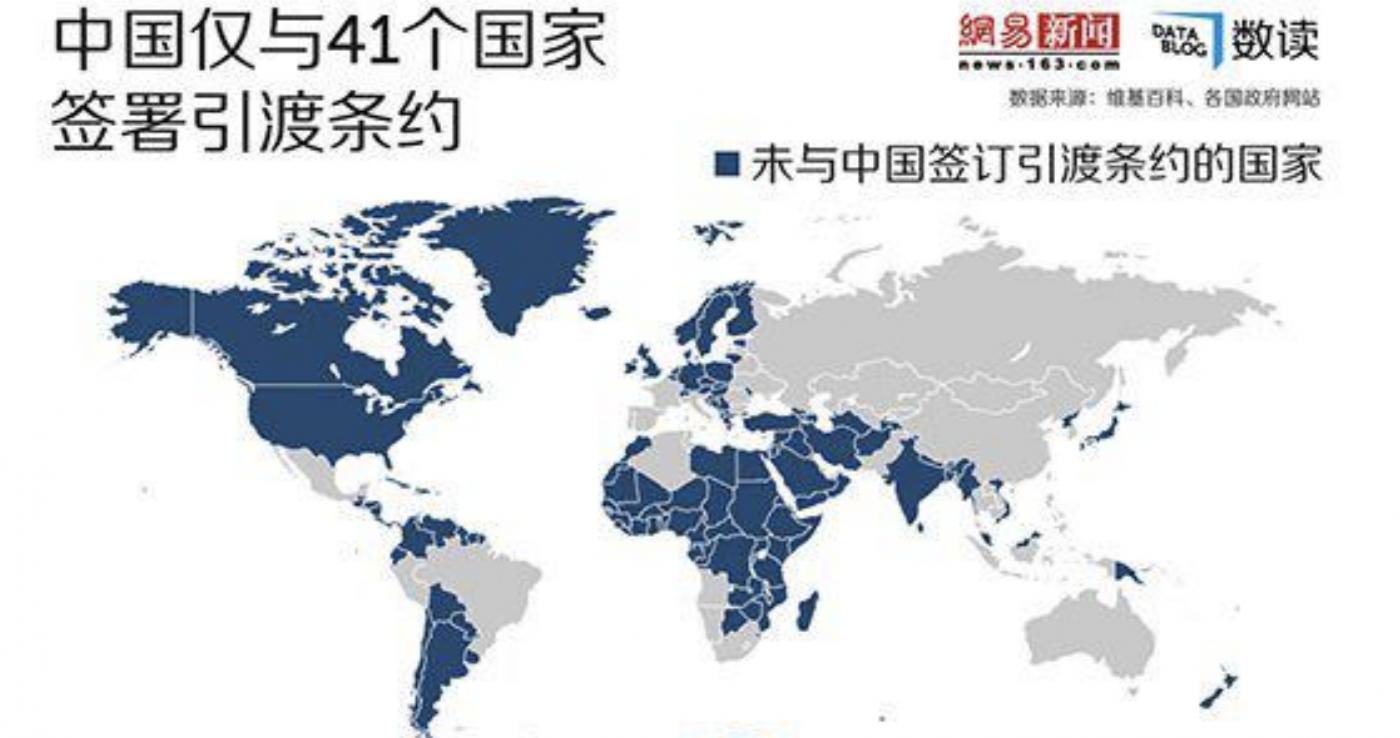 """美国和哪些国家签订了""""引渡""""条约?_图1-2"""