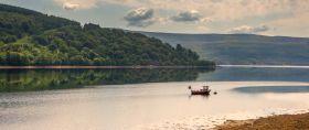 苏格兰美景,弯弯的浅滩