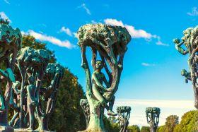 挪威维格兰雕塑公园,栩栩如生