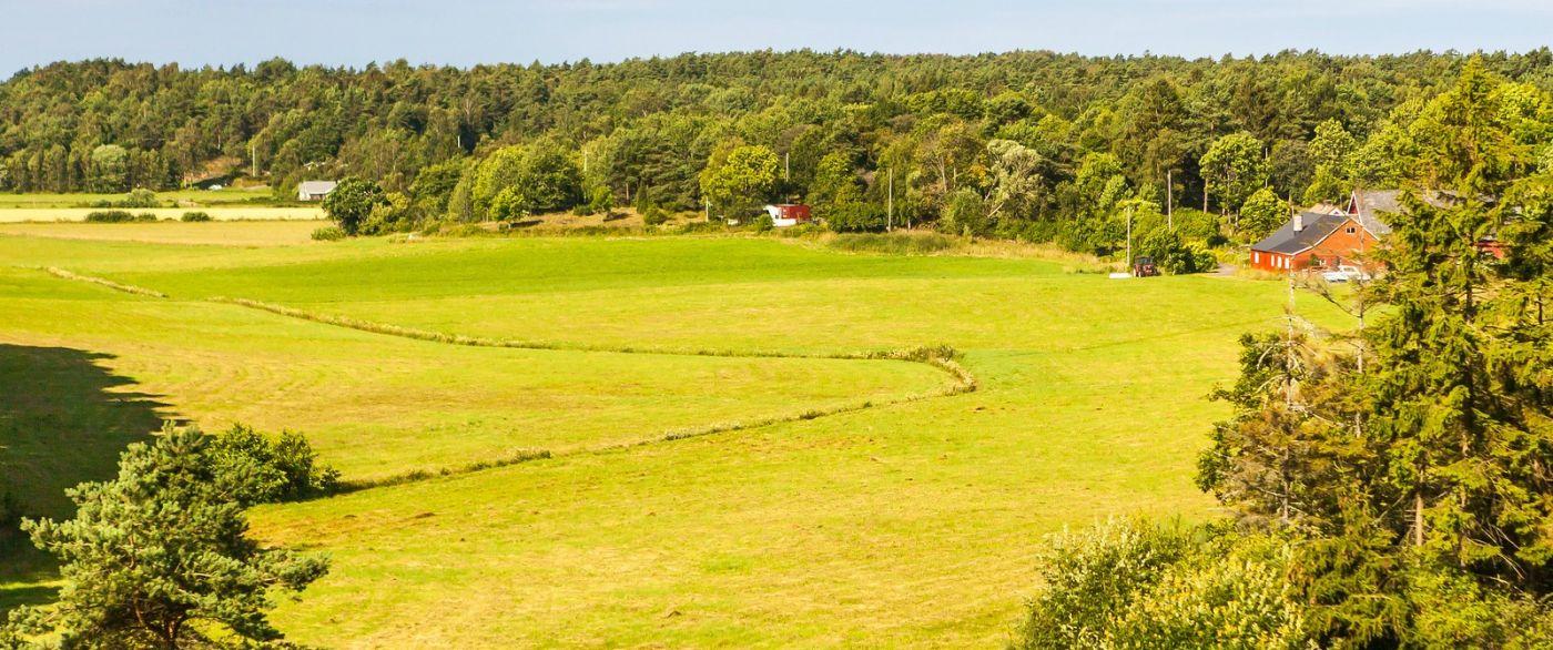北歐旅途,沿路的漂亮農莊_圖1-2