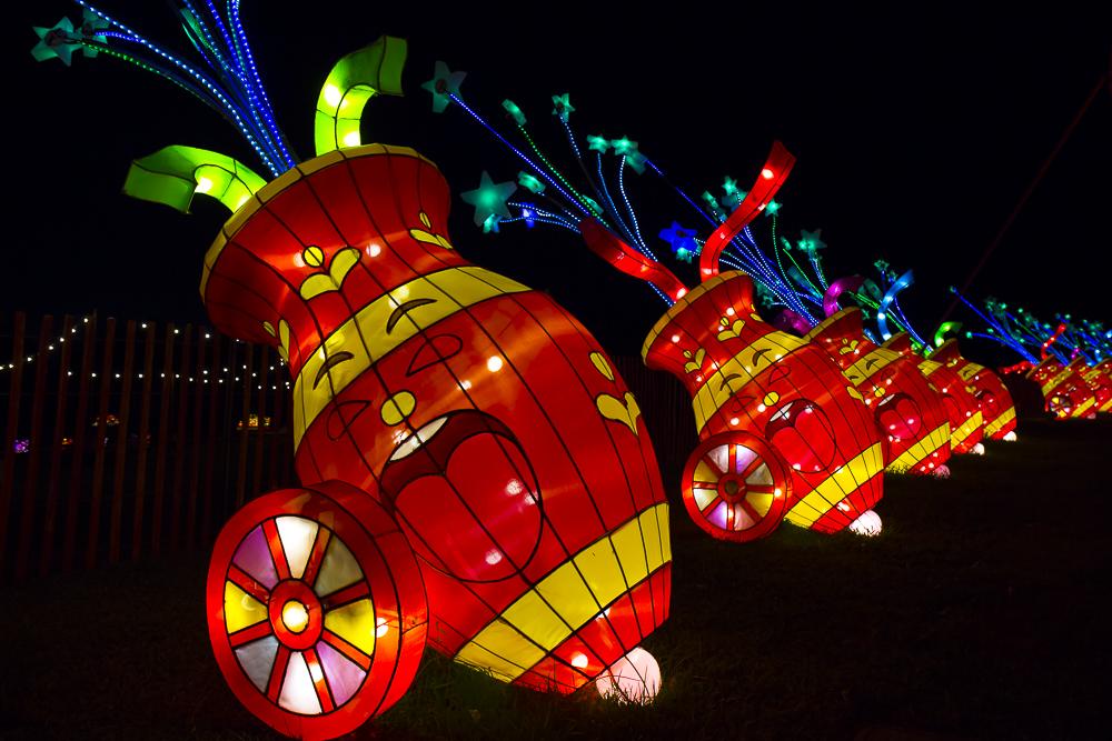 Moonlight Forest 洛杉磯植物園燈飾展覽_圖1-3