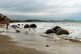 摩拉基巨石---新西兰之谜