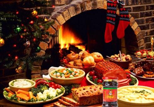 高娓娓:被老干妈拯救的美国家庭圣诞大餐_图1-1