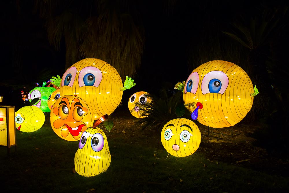 Moonlight Forest 洛杉磯植物園燈飾展覽 3_圖1-11