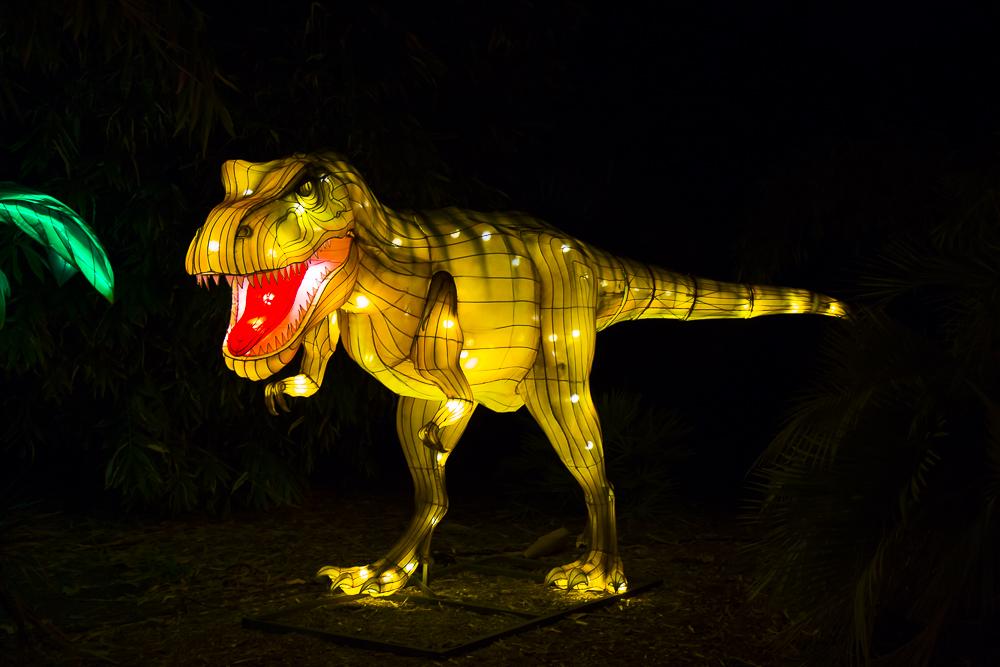 Moonlight Forest 洛杉磯植物園燈飾展覽 3_圖1-14