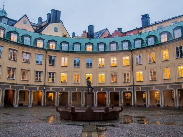 斯德哥尔摩的老城区_图1-8