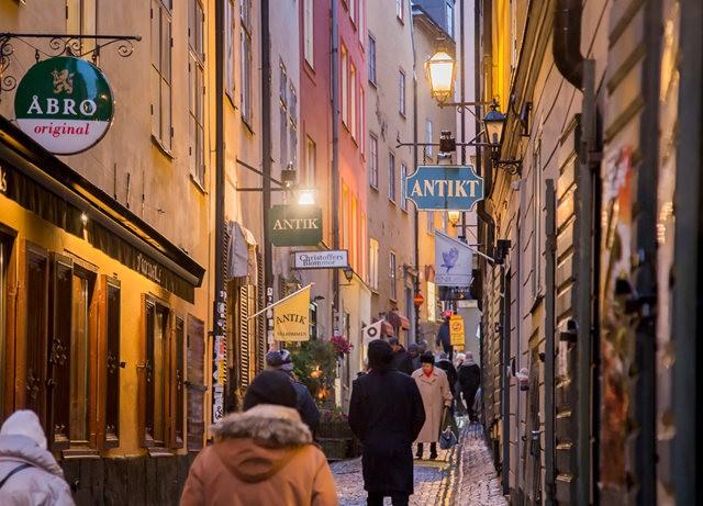 斯德哥尔摩的老城区_图1-15