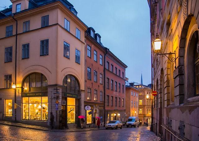 斯德哥尔摩的老城区_图1-24