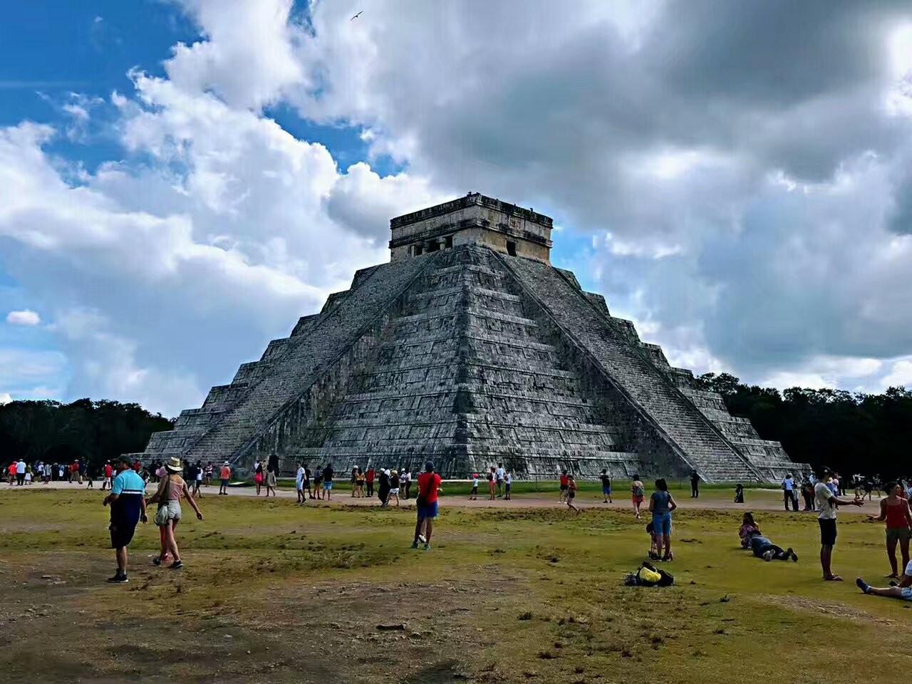 墨西哥奇琴伊察玛雅文化遗迹(图)_图1-1