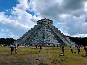 墨西哥奇琴伊察玛雅文化遗迹(图)