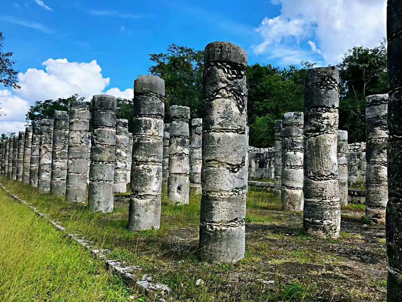墨西哥奇琴伊察玛雅文化遗迹(图)_图1-2