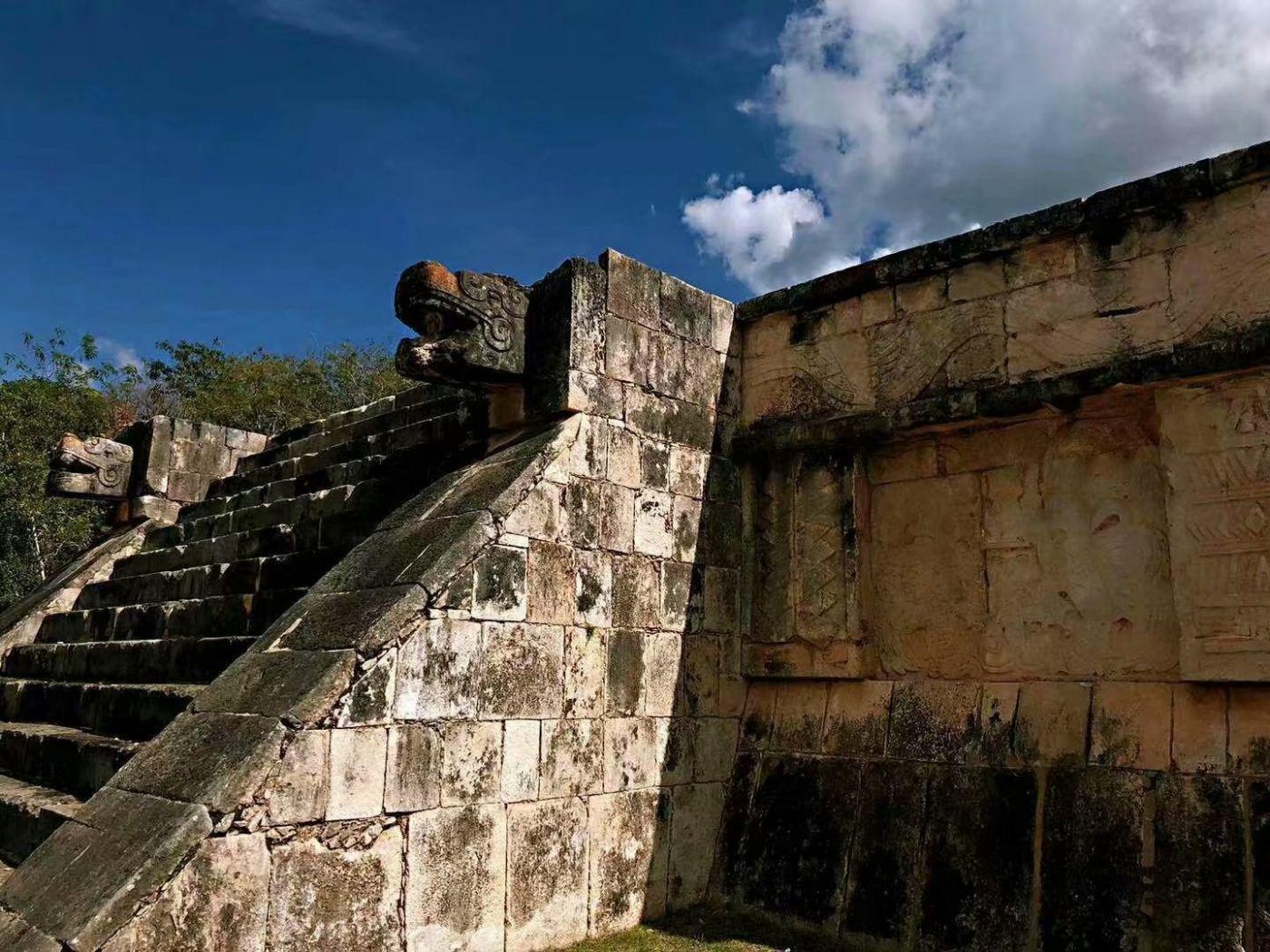 墨西哥奇琴伊察玛雅文化遗迹(图)_图1-3